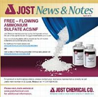 Free-Flowing Ammonium Sulphate for Biotech/Biopharma customers